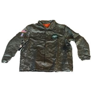 New York Jets Nike Salute To Service Jacket 3XL